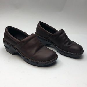 Born Women's Size 9 Brown Leather Clog